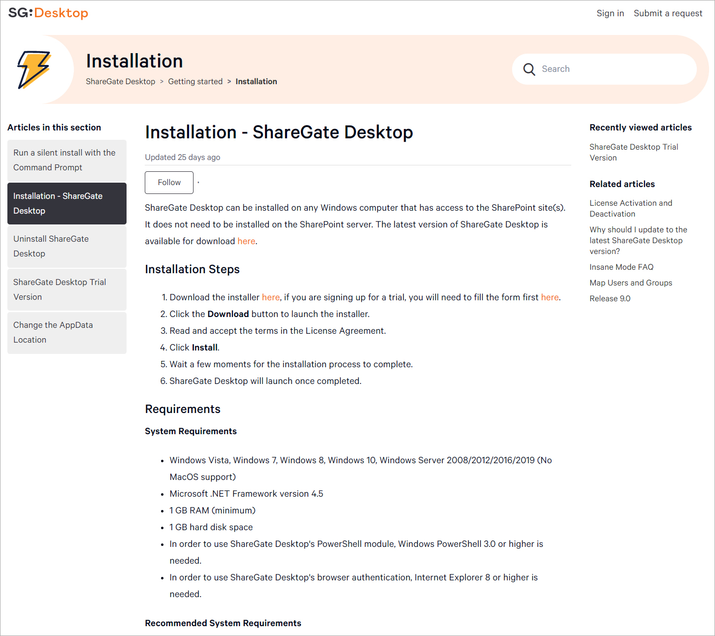 Installation-ShareGate-Desktop